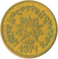 COIN / FRENCH MOROCCO / 10 FRANC 1951      #WT6123