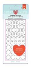 American Crafts 275 Piece Sticky Thumb Dimensional Foam Dots