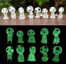 Doll House Accessories 1:12th Mini 1 Set of 8 Glow in the Dark Little Aliens