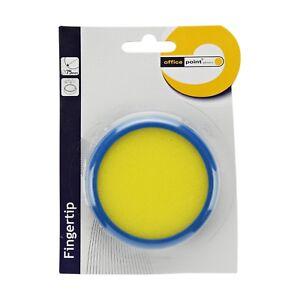 2 Ersatzschwämme für Briefmarken Anfeuchter Anlecker Umschläge orange Schwamm