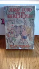 Jerry Todd & The Bob-Tailed Elephant 1929 1st Edition Juvenile Boys Series #9