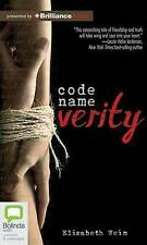Code Name Verity by Elizabeth Wein (CD-Audio, 2014)