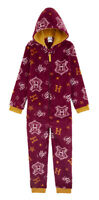 Harry Potter All in One Pyjamas for Girls and Boys, Fleece Kids PJs