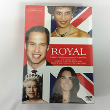 Royal Box Set (DVD, 2011, 3-Disc Set )Princess Diana, Prince William & Harry New