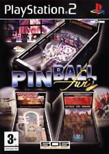 Pinball Fun (Playstation 2, PAL) Complete, Very Good, UK Version, Lots of Fun!