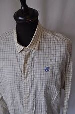 Beverly Hills Polo Club yellow check shirt size XL classic