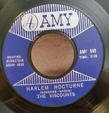 """Viscounts Amy 940 """"HARLEM NOCTURNE"""" (GREAT ROCK N ROLL) 45 SHIP FREE"""