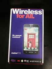 LG Optimus L70 MS323 - 4GB - Black (MetroPCS) Smartphone UNLOCKED