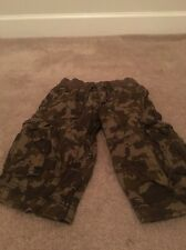 Cherokee Boys Cargo Casual Shorts  Sz XS 4/5 Multicolor Clothes