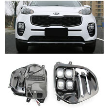 LED DRL Daytime Running Light Day Lamp For KIA KX5 SPORTAGE 2016-2017