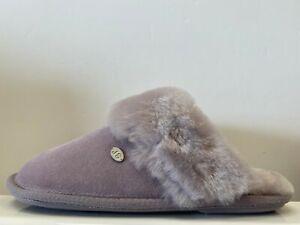 Just Sheepskin Duchess Mules Ladies UK 7-8 EUR 40-42 REF F1400~