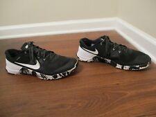 Used Worn Size 13 Nike Metcon 2 Shoes Black & White