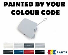 NEW BMW X1 E84 FRONT BUMPER TOW EYE HOOK COVER PAINTED BY YOUR COLOUR CODE