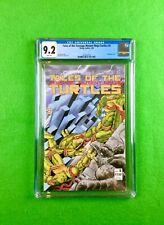 Tales of the Teenage Mutant Ninja Turtles #5 (1988): CGC 9.2! Wraparound Cover!