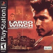 Largo Winch./ Commando Sar (Ps1, PlayStation 1) Disc Only.Tested!