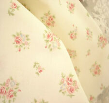 Beautiful MINI ROSE BOUQUET ROSE BUDS Clothing Quilting Cotton Fabric 50x48cm