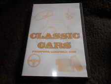 RARE DVD All Regions CLASSIC CARS Freeford Lichfield 2006 HIGH PEAK FILMS