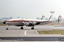 Lockheed Constellation Bundle 2 - Eight 6x4 prints CAUSA IBERIA FLYING TIGERS