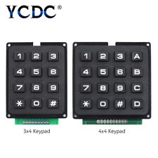 12/16 keys switch control matrix array keypads keyboard module for arduino BD5A