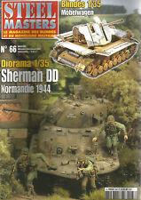 STEEL MASTERS N° 66 MOBELWAGEN / SHERMAN DD / LORRAINE SCHLEPPER / SIG 33/AMX 10