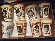 1978 1982 Slurpee Cup 7-11 Mlb Baseball Lot - Fisk Pinella Porter Lopes Chamblis