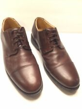 Size 9 M Studio Belvedere Duke Brown Leather Shoes