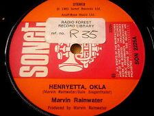"""MARVIN RAINWATER - HENRYETTA, OKLA    7"""" VINYL"""
