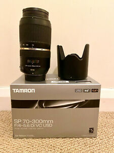 Tamron SP 70-300mm F/4-5.6 DI VC USD Telephoto Lens for Nikon F Mount