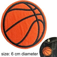 Basketball iron on patch  - hoop slam dunk shot ball sport BB iron-on patches