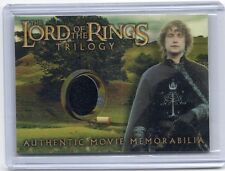 LOTR Lord Of The Rings Trilogy Pippin's Gondorian Tunic memorabilia costume card