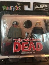 Walking Dead  MiniMates series 4 Hooded Michonne And Gabe
