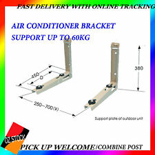 Air Conditioner Bracket Weight Support Up To 60kg Sturdy Anti-Corrosion Great