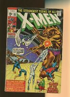 Uncanny X-Men #65, VG+ 4.5, Professor X Returns; Cyclops, Beast, Havok, Angel