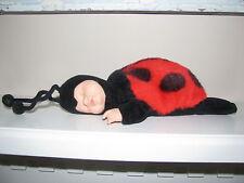 Anne Geddes Plush Lady Bug Doll Toy Cute Ladybug Small 11 inch adorable