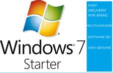 MICROSOFT WINDOWS 7 STARTER KEY DIGITAL SETUP 32 BIT FOR NETBOOK NOTEBOOK