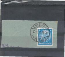 Nicht bestimmte Briefmarken aus dem deutschen Reich (1924-1932) als Briefstück