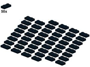 LEGO® - Plates - Black - 3023-04 - 1x2 (50Stk) - Platte - Schwarz
