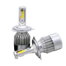 PHILIS COB H4 C6 488W 48800L LED Headlight Kit Hi/Lo Turbo Light Bulbs 6000K Car