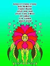 Bunga Bersenang-Senang Buku Mewarnai Tingkat Mudah Untuk Anak-anak Untuk...