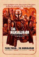 "The Mandalorian Poster Collectors Print Star Wars DISNEY+CARANO 11""x14"""