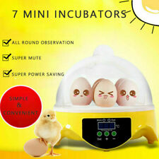 7 Eggs Automatic Hatcher Incubator Digital Poultry Chicken Bird Duck Pro Brand