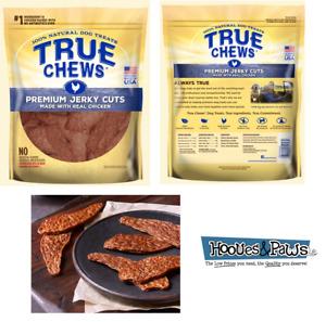NATURAL TYSON TRUE CHEWS CHICKEN JERKY DOGS TREATS USA MADE 22oz or 12oz