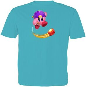 Gaming Super Star Kirby Yo-Yo Kids Girls Boys Youth Video Game Cartoon T-Shirt