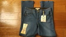"Democracy Sz 14 Artisan Crafted ""ab"" Technology Jeggings Booty Lift Blue Jeans"