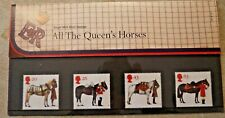 """New """"Royal Mail Mint"""" Stamps - All The Queen'S Horses - 4 Stamps - 1997 - Awesom"""