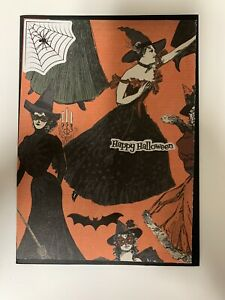 Handmade Halloween Card! Victorian Witches!