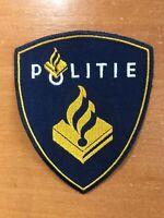 NETHERLANDS PATCH POLICE POLITIE - ORIGINAL