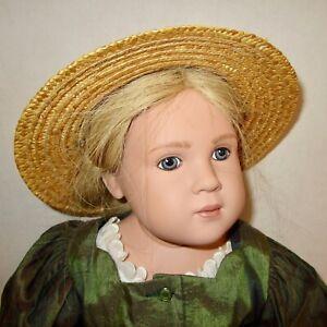 """Sigikid Sabine Esche Leni 1 vintage doll 23"""" clothes signed numbered vinyl 1992"""