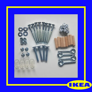 IKEA Gulliver Cot Bed Crib complete set of screws & fixings spare parts