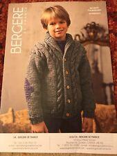 Nouveau BERGERE DE FRANCE Enfants Pull Tricot Motif, Alaska idéal 700.31